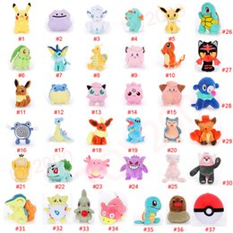 Cotton doll making online shopping - Pikachu Doll Yoy bulbasaur piplup charmander eevee mew squirtle plush toys stuffed pendant toy with hook pikachu Stuffed Animals kids toys