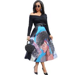 $enCountryForm.capitalKeyWord UK - Cy8148. Fund Suit-dress Printing Will Pendulum Pleated Skirt Crimp Half-body Skirt