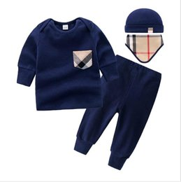 9cb3cc9e5 Nuevos niños pijamas bebé mamelucos recién nacido ropa de marca ropa  interior de manga larga traje de algodón niños niñas otoño mamelucos