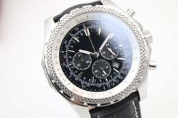 Men S Black Digital Watch Australia - Top Fashion black quartz chronograph stop watch limited Dial Mens Watch Wristwatch Men\'s Watches watch chronometer Authentic clasp