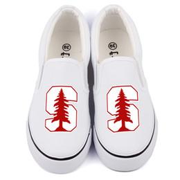 $enCountryForm.capitalKeyWord Australia - Hot Sale-Hot America College Students Canvas Shoes Slip On Custom Print Black Casual Loafers Womens Flat Walking Shoes Zapatos Drop Ship