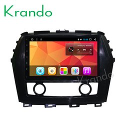 "Audio For Nissan Australia - Krando Android 8.1 8"" IPS Full touch car Multmedia player for Nissan Maxima 2015 audio player gps navigation system BT wifi car dvd"