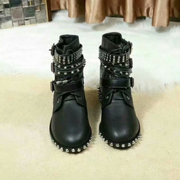$enCountryForm.capitalKeyWord Australia - Women Designer boots woman Shoes free shipping Martin Desert Boot Leather Medal Coarse Non-Slip Women Winter Shoes
