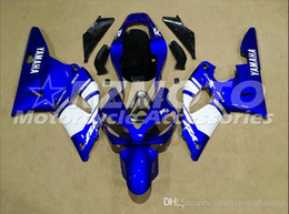 Yamaha Blue Australia - 3 Free Gifts New motorcycle Fairings Kits For YAMAHA YZF-R1 2000 2001 r1 00 01 YZF1000 Blue White S1