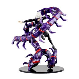 kaneki figure NZ - 2019 new Anime Figure 28 CM Tokyo Ghoul Kaneki Ken Generation Of Dark Jin Muyan PVC Action Figure Colletible Model Toy figurine
