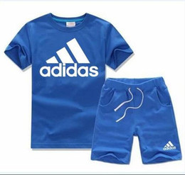 boys cotton beach pants Australia - 2019 Children's T-shirt shorts pants boys cotton shirt children's sportswear basketball set 2   set of short-sleeved beach T-shirt
