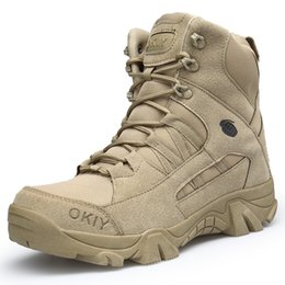 Army combAt boots online shopping - Winter Men Boots Boot Tactical Safety Combat Mens Chukka Ankle Bot Motocycle Boots Big Size Army Male Shoes XX