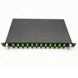 $enCountryForm.capitalKeyWord Australia - 12 Ports 19 inch Rack Mount Patch Panel with Adapters Pigtail SC FC ST LC Fiber Patch Panel