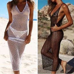 Wholesale Sexy Women Beachwear Swimwear Bikini Beach Wear Cover Up Hollow Ladies Dress