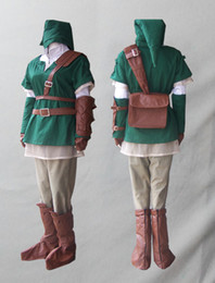 princesa do crepúsculo venda por atacado-Legend of Zelda Twilight Princess traje ligação cosplay