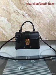 $enCountryForm.capitalKeyWord Australia - Newest hot fashion Women bag Shoulder Bag leather calfskin patches insert buckle fashion women handbag