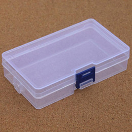 Clear Jewelry Storage Boxes Australia - Clear Plastic Storage Box Container Tools Case Screw Sewing PP Boxes Transparent Component Screw Jewelry Box