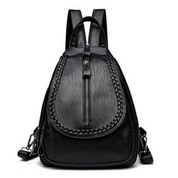Wholesale Ma am Both Shoulders Hundred And Up Weave Chest Female Package Dual use Leisure Time Small Knapsack Tide