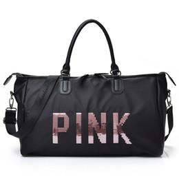 2018 Ladies Travel Bag Large Capacity Hand Luggage Travel Duffle Bags  Ladies Weekend Portable duffel Bag Waterproof wash 5c083f6441fee