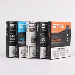 Vagem descartável do jogo do acionador de partida do E-cigarro de Vgod Stig com os pods 1.2ml 270mAh 3pcs / lot Pena inteiramente carregada Flydream da bateria Vape em Promoção