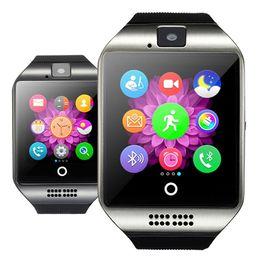 Smart Watch Wifi Camera Australia - Q18 Plus Android 4.4 Smart Watch MTK6572 4G ROM 512 RAM Smartwatch 3G SIM WiFi Camera GPS Relogio Inteligente PK DM98