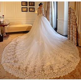 $enCountryForm.capitalKeyWord Australia - New White Flower Embroidery Wedding Dresses Sexy Women Girl Wedding Dress Gown Pregnant Women Professional custom