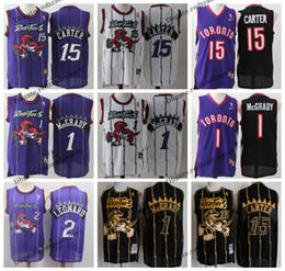 b5f41161429 Vintage Mens Toronto Kawhi Leonard Raptors Basketball Jerseys Cheap Tracy  McGrady  15 T-Mac Vince Carter Stitched Shirt S-XXL
