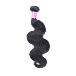 HigH quality Human Hair online shopping - Ais Hair Body Wave Natural B Color pc Brazilian Peruvian Indian Malaysian Virgin Human Hair Bundles Weave Weaves Extensions High Quality