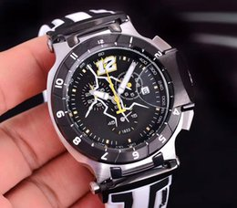 men limited watches chronograph 2019 - Luxury Brand T048 Round T-Race Nascar Limited Edition Caliber 1853 Chronograph Quartz Japan Rubber Strap Men Watch Wrist