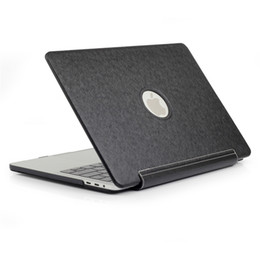 Macbook pro leather cover online shopping - For MacBook Pro A1707 A1990 Case PU Leather Tablet Case Flip Stand Scratch Resistance Tablet Protective Cover Shockproof