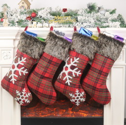 $enCountryForm.capitalKeyWord Australia - Christmas Stockings Decor Christmas Trees Ornament Party Decorations Santa Christmas Stocking Candy Socks Bags Xmas Gifts Bag