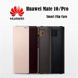 $enCountryForm.capitalKeyWord Australia - Brand Official Case for Huawei Mate10   Mate 10 Pro Smart Flip Case for Huawei Mate 10  Pro Original View Window Flip Cover Case