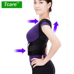chest belt for men Australia - * Tcare Posture Correction Waist Shoulder Chest Back Support Brace Corrector Belt For Women Men Size S m l xl xxl Care T190816