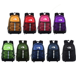 large sports duffle bag Canada - 9 Colors The Nylon Backpacks North Shoulder Bags Face Travel Sports Duffle Students Back Pack Schoolbag Large Capacity Knapsack Totes C72502