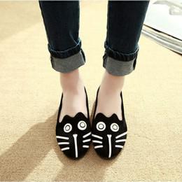 $enCountryForm.capitalKeyWord Australia - Women Loafers Spring Autumn Female Flats Slip-On Fashion Cute Casual Shoes Cartoon Lightweight Ladies Doug Footwear SJ874