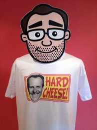 Black Cheese Australia - Terry-Thomas - Hard Cheese T-Shirt funny 100% Cotton t shirt