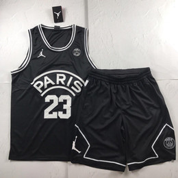 brand x basketball NZ - 19ss New Luxurious Brand DesignJumpman x Paris Basketball Vest Shirt Men Women Breatheable Fashion Jersey Streetwear Outdoor T-shirts