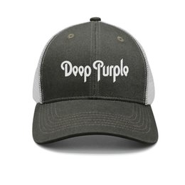 $enCountryForm.capitalKeyWord Australia - Deep Purple army-green mens and womens trucker cap ball cool fitted plain hats