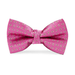Knitted Bowties UK - Hi-Tie New Design Casual Children Bow Red Dot Necktie Fashion Baby Boy Girl Wedding Dress Accessories Bowties LH-064