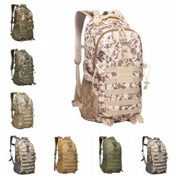 Chinese  Camouflage Tactical Backpack 9 Colors Male Military Camo Multifunctionl Army Bag Waterproof Oxford Travel Sports Bags 5pcs OOA6164 manufacturers