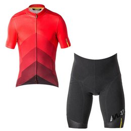 $enCountryForm.capitalKeyWord UK - Team Mavic men's summer breathable short sleeve cycling jersey kit ropa ciclismo bicycle bike clothing bib shorts set00059