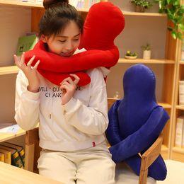 Foam shape toy online shopping - 1PC Japan Mini Men Shape Pillows Solid Plush Cushion Foam particles Pillows Office Sofa Chair Bed Back Cushion Throw Pillow Gift