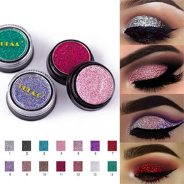 body glitter color NZ - LULAA 14 Colors Sequins Face Body Powder High Pigment Makeup Shimmer Body Glitter Eyes Make Up Lip Nail Body Powder Cosmetics