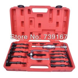 Wholesale 16PCS Blind Hole Pilot Slide Hammer Internal Bearing Extractor Puller Tool Kit ST0030