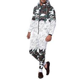 $enCountryForm.capitalKeyWord Australia - 2019 Mens Running Set Casual Sportswear Cardigan Hooded Sweatshirt Jogger Pants Tracksuit Camouflage Print Male Hombre Jumpsuit