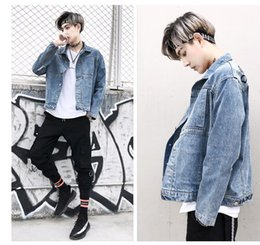 Hiphop Style Jacket Australia - Autumn Embroidery Jacket Hoodies American Style Fashion Men's Skateboard Hoodie Sweatshirts DenimCasual Jackets Women HipHop Loose Coat