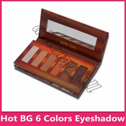 Popular Eyeshadow Australia - Popular Beauty Glazed Eyeshadow Palette 6 Colors Waterproof Eye Shadow Powder Make Up Eye Shadow Palette Cosmetics