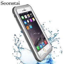 $enCountryForm.capitalKeyWord Australia - Waterproof Case For Iphone 6s 6 Plus Underwater Water Proof Shockproof Hard Cover For Iphone 5s 5 Se Phone Cases Coque Capinha J190701