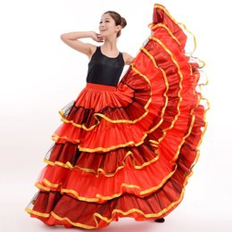 786136c120e6 Flamenco Costumes Australia - New Show Costume Spanish Flamenco Half-length  Skirt Opening Dance Bust