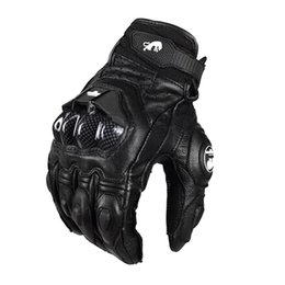 Racing Gloves Leather Australia - F moto Leather Racing Glove Motorcycle Gloves ride bike driving bicycle cycling Motorbike Sports moto racing gloves Furygan