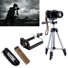 Großhandel Kamerastativ Tragbares, leichtes, flexibles Dreiwege-Stativkopf-Kamerastativneu