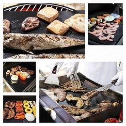 $enCountryForm.capitalKeyWord NZ - BBQ Grill Mat Magic Mats Non Stick Grilling Backing Outdoor Plate Portable Easy Clean Outdoor Picnic Cooking Tool 40x33cm