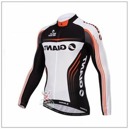 Giant lonG sleeve cyclinG jersey online shopping - Giant Team Cycling Jersey Maillot Ciclismo Long Sleeve Ropa Ciclismo Quick dry Race Mtb Bike Cycling Clothing Bicycle Jacket A1705