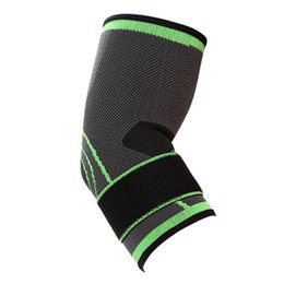 4601875871 Elbow Pad Protector Support Brace Sports Exercise Bandage Basketball Compression  Adjustable Breathable Elastic Armguard #134499