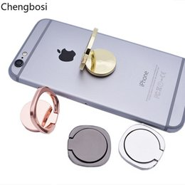 Wholesale General Phone Finger Ring Holder Degree Stand for Samsung Xiaomi IPhone XS X S Plus Smartphone Tablet Plain Bague